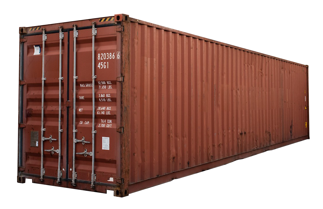 40FT High Cube Cargo Worthy Shipping Container