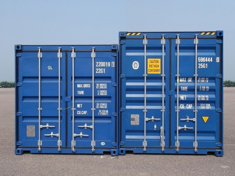 shipping container sizes and prices